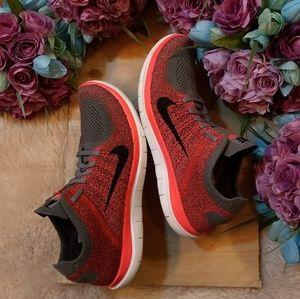 Nike Free 4.0 Flyknit Pink/Gray